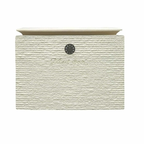 Dea's Garden Mailbox Collection Wall Mount Dune Composite Mailbox in White
