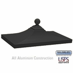 Salsbury 3350BLK Decorative CBU Top - Black