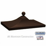 Salsbury 3350BRZ Decorative CBU Top - Bronze