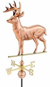 Deer - Polished Weathervane