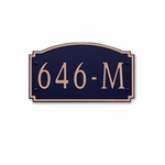 Dekorra Products 646 Medium Horizontal Address Plaques