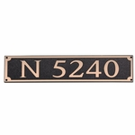 Dekorra Products 656 Horizontal Address Plaques