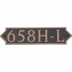 Dekorra Products 658 Horizontal Address Plaques