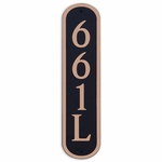 Dekorra Products 661 Round and Oval Address Plaques