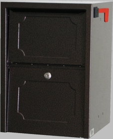 Delivery Vault Junior- Full Service Lockable Curbside Mailbox