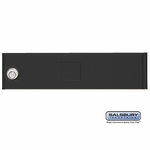 Salsbury 3351BLK Door Black Standard A Size Replacement For Cluster Box Unit With (3) Keys