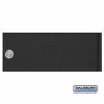 Salsbury 3352BLK Door Black Standard B Size Replacement For Cluster Box Unit With (3) Keys