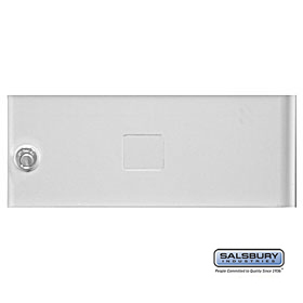 Salsbury 3352GRY Door Gray Standard B Size Replacement For Cluster Box Unit With (3) Keys