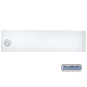 Salsbury 3351WHT Door White Standard A Size Replacement For Cluster Box Unit With (3) Keys