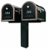 Double Standard In-Ground Post System (Mailboxes Purchased Separately)