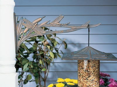 Whitehall Dragonfly Nature Hook - French Bronze