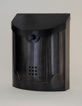 E4BP Black Pewter Wall Mounted Modern Mailbox
