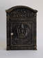 E6 Victorian Locking Wall Mount Mailbox - Bronze