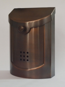 Ecco E5 Brass Mailbox - Choose Finish