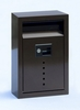 Ecco E9 Bronze Galvanized Steel Wall Mailbox