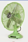 Electric Fan-Pistachio Green-Small-1 speed-Non oscillating