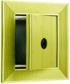 Electric Switch Type Key Keeper, Prepared for USPS Lock, Anodized Gold