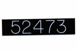 Custom Numbering for Commercial Mailboxes