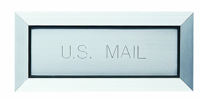 Engraved Mail Slot