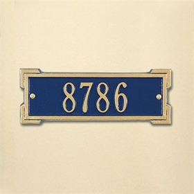Whitehall Petite Size Roanoke Wall Plaque - (1 line)