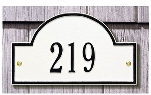 Whitehall Petite Size Arch Marker Wall Plaque
