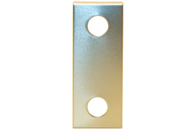 Escutcheon - Anod Gold - Extra Large