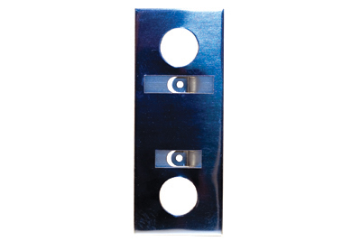 Escutcheon - Mirror Silver