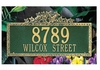 Whitehall Estate Size Ivy Wall or Lawn Plaque - (1 or 2 lines)