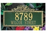 Whitehall Standard Size Ivy Wall or Lawn Plaque - (1 or 2 lines)