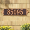 Whitehall Estate Size Lyon Horizontal Wall or Lawn Plaque - (1 or 2 Lines)