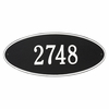 Estate Size Madison OVAL Wall or Lawn Plaque - (1 or 2 lines)