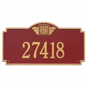 Estate Size Monogram Wall or Lawn Plaque - (1 or 2 lines)