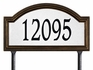 Whitehall Estate Size Providence Arch Reflective Wall or Lawn Traffic Sign - (1 Line)