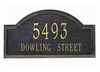 Whitehall Estate Size Providence Arch Wall or Lawn Plaque - (1 or 2 lines)