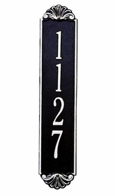 Standard Size Shell Vertical Wall Plaque - (1 Line)