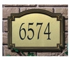 Standard Size Williamsburg Artisan Metal Wall or Lawn Plaque - (1 Line)