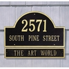 Whitehall Standard Size ARCH MARKER Wall Plaque EXTENSION - (1 Line)