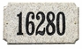 Executive Rectangle Solid Granite Plaque with Engraved Text - Autumn Leaf Granite