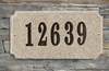 Executive Rectangle in Sand Polished granite plaque w/Engraved Text