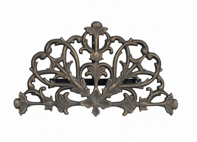 Whitehall Filigree Hose Holder - Copper Verdi