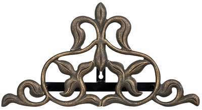 Fleur-De-Lis Hose Holder - Oil Rub Bronze