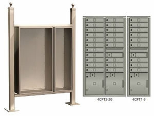Vario Express Mailbox Enclosure Packages