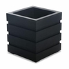 Freeport Patio Planter 18 x 18 Black