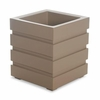 Freeport Patio Planter 18 x 18 - Clay