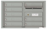 5 Door High Front Loading 4C Mailboxes (19-3/4 in. High)