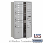 4C Horizontal Mailboxes Front Loading