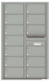 Front Loading Commercial Mailbox - 13 Tenant Doors - Double Column