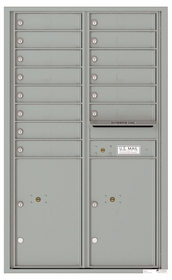 4C Front Loading Horizontal Mailboxes 13 to 14 Doors