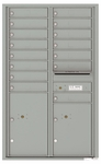 4C Front Loading Horizontal Mailboxes 15 to 16 Doors