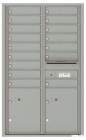 14 Door High Front Loading 4C Mailboxes (51-1/4 in. High)